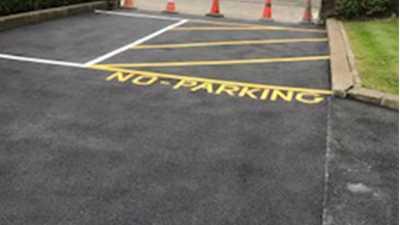 Professional Tarmac & Line Marking Driveway