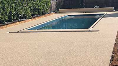 Swimming Pool Surround Surfacing