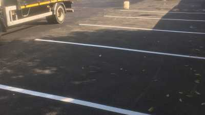 New Tarmac Car Park Lines