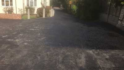 New Tarmac Layout for Property