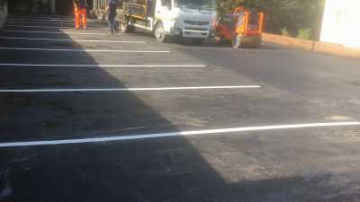New Thermoplastic Line Markings