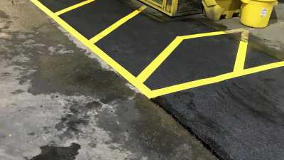 Safety Tarmac Markings