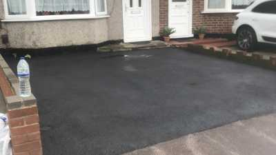 Recently Completed Tarmac Driveway